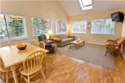 Mashpee Cape Cod vacation rental - Multi-Functional Sunroom: Dining, TV, Games For Everyone To Enjoy