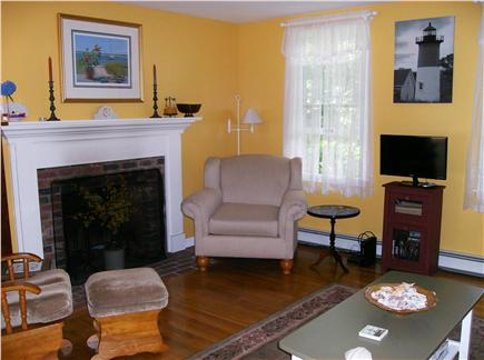 Eastham Cape Cod vacation rental - Fireplaced living room