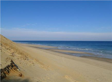 Truro Cape Cod vacation rental - Expansive, beautiful ocean side beach