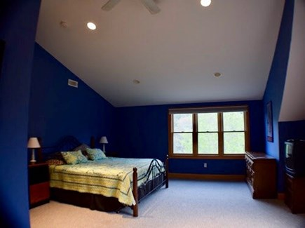 Truro Cape Cod vacation rental - Large Master bedroom with king
