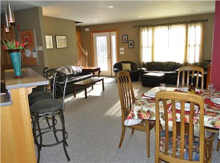 Truro Cape Cod vacation rental - Open living area, great for family gathering