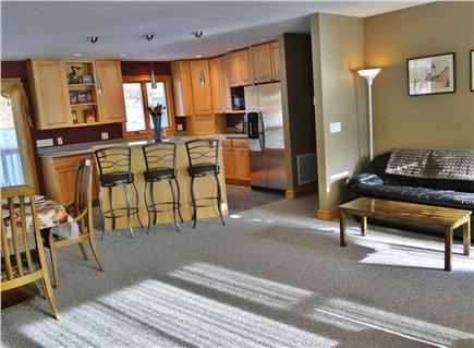 Truro Cape Cod vacation rental - Kitchen with breakfast bar