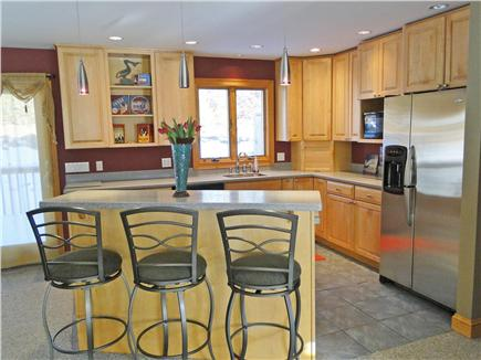 Truro Cape Cod vacation rental - Bright, attractive kitchen, adjacent to deck with gas grill