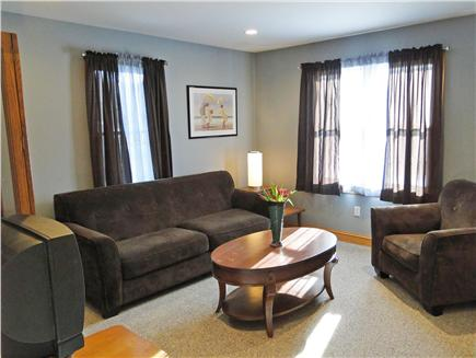 Truro Cape Cod vacation rental - Separate family room with TV