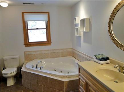 Truro Cape Cod vacation rental - Great upstairs bath with Jacuzzi