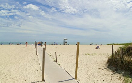 West Yarmouth Cape Cod vacation rental - Enjoy Seagull Beach - a 5 minute drive, with a great boardwalk.