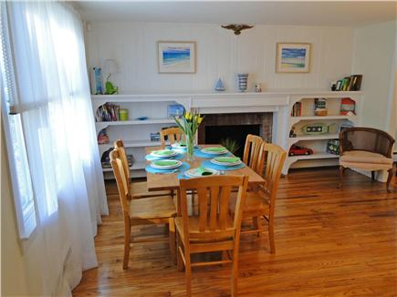 West Yarmouth Cape Cod vacation rental - Spacious, lovely dining area with seating for 6.