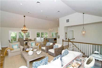 Orleans Cape Cod vacation rental - Open and Bright living and dining area