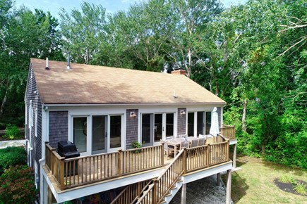 Orleans Cape Cod vacation rental - Back Exterior