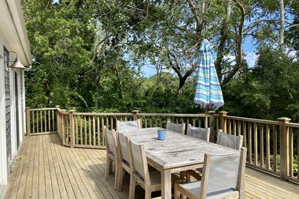 Orleans Cape Cod vacation rental - Spacious Deck