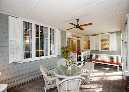 Harwich Cape Cod vacation rental - Porch