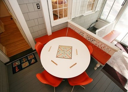 Harwich Cape Cod vacation rental - Perfect spot for breakfast or a board game