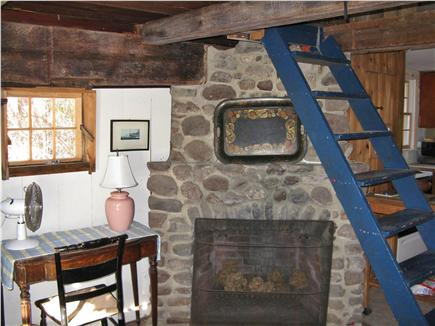 East Orleans Cape Cod vacation rental - Mill Fireplace - non working - and steps to Loft