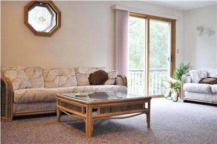 Mashpee Cape Cod vacation rental - Sitting room loft area on 2nd floor opens to second floor deck