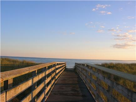 Mashpee Cape Cod vacation rental - South Cape beach by day; 9/10 of a mile away