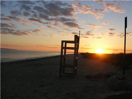 Mashpee Cape Cod vacation rental - South Cape beach at sunset