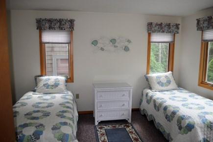 Mashpee Cape Cod vacation rental - First floor twin bedroom, 2 bureaus and closet