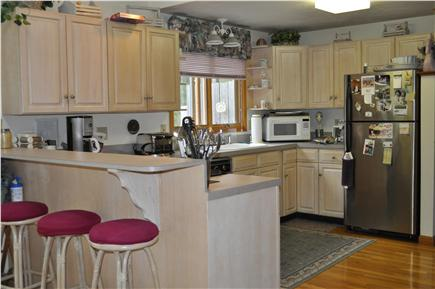Mashpee Cape Cod vacation rental - Kitchen with updated appliances; second refrigerator in garage