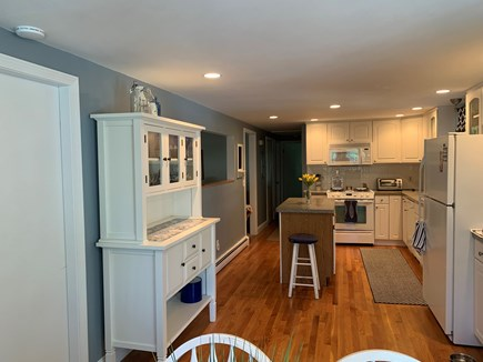 Dennis Cape Cod vacation rental - View of island and open kitchen