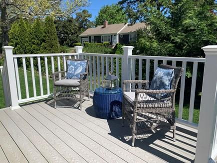 Dennis Cape Cod vacation rental - Side porch