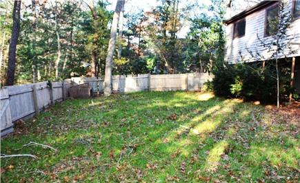 Falmouth Cape Cod vacation rental - Large fenced backyard perfect for outdoor play