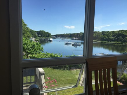 Falmouth Cape Cod vacation rental - Dining with a view