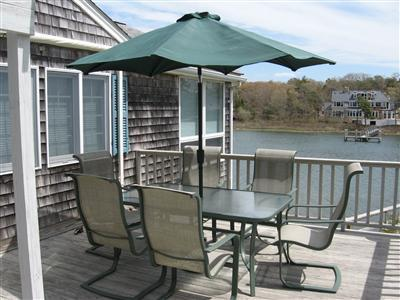 Falmouth Cape Cod vacation rental - Waterfront outdoor dining