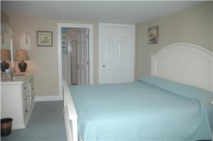 Falmouth Cape Cod vacation rental - Master bedroom with king size bed - private bath - TV