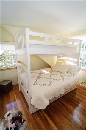 Brewster Cape Cod vacation rental - Second floor kids room (sleeps 4) 2 twins 1 full