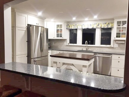 Brewster Cape Cod vacation rental - Kitchen with breakfast bar