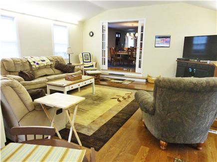 Brewster Cape Cod vacation rental - Family room (includes high speed wireless internet connection)