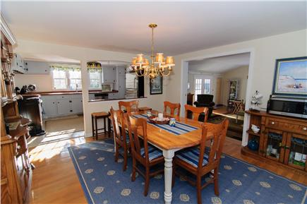 Brewster Cape Cod vacation rental - Open dining room includes Keurig machine and microwave