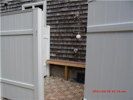 South Dennis Cape Cod vacation rental - Outdoor shower