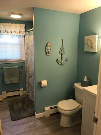 South Dennis Cape Cod vacation rental - 1st Floor Bathroom with Washer/Dryer