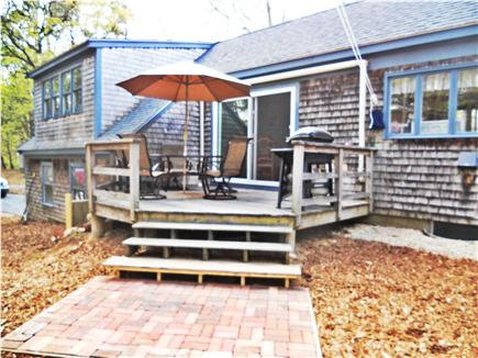 Eastham, Massachusetts Cape Cod vacation rental - Deck with gas grill