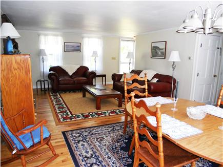 Eastham, Massachusetts Cape Cod vacation rental - Living Room with conventional TV and DVD player
