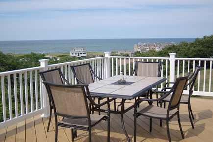Plymouth MA vacation rental - View from the deck of Cape Cod Bay