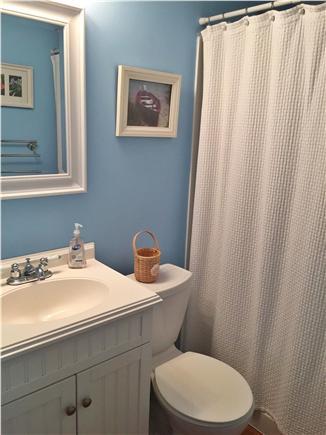 West Dennis Cape Cod vacation rental - First floor bathroom