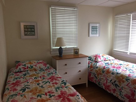 West Dennis Cape Cod vacation rental - First floor bedroom - 2nd side - 2 twins