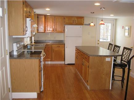 West Dennis Cape Cod vacation rental - Main kitchen with breakfast island