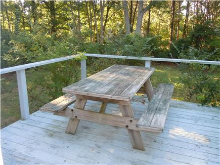 Brewster Cape Cod vacation rental - Side Deck