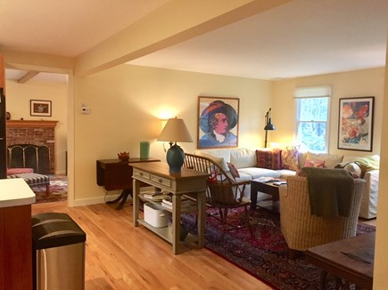 Orleans Cape Cod vacation rental - Living area adjacent to kitchen