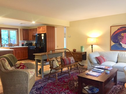 Orleans Cape Cod vacation rental - A look from first living area toward kitchen
