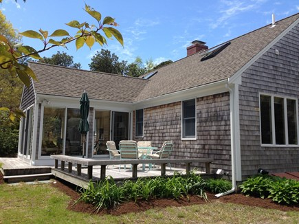 Orleans Cape Cod vacation rental - Back of home with deck