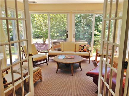 Orleans Cape Cod vacation rental - Sunroom off of dining and deck area