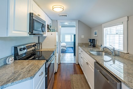 West Yarmouth Cape Cod vacation rental - Galley kitchen