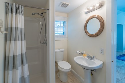 West Yarmouth Cape Cod vacation rental - Bathroom #2 (shower and laundry)