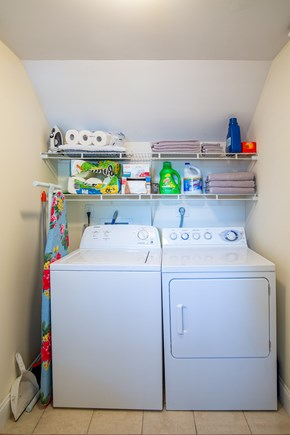 West Yarmouth Cape Cod vacation rental - Laundry room