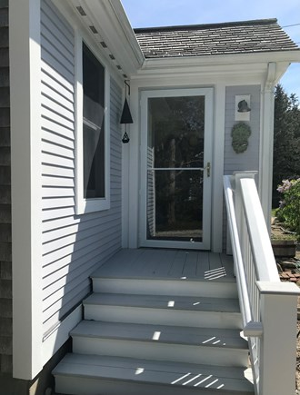 Nauset Heights (East Orleans) Cape Cod vacation rental - Side entry point leading from patio area.