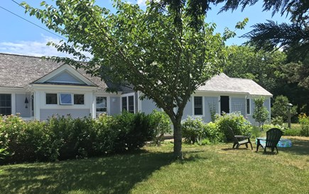 Nauset Heights (East Orleans) Cape Cod vacation rental - Ample yard with deep frontage. Memorable sunsets looking west.